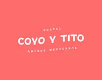 Coyo y Tito: Hostal - Branding