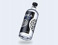 Label design for vodka