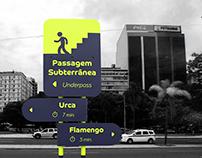 Sinalização - Ciclovia Botafogo