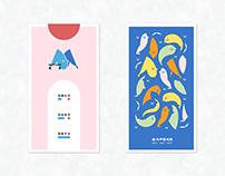 《 M A P O R N 》 網頁視覺標準字設計