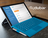 Fly Dubai Mobile/Tablet app