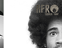 Flyers  (Pizza - Fundación Renacer - Afro Barber Shop)