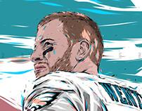 Adobe DRAW : NFL series - Carson Wentz 2