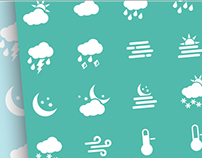 17 Weather icons in Weather icon pack