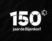de Bijenkorf - 150 jaar identity