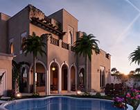 Andalusian villa UAE