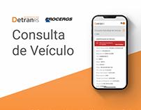 Consulta de veículo / Detran RS