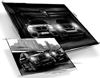 BMW X5M and X6M Pitch Storyboarding