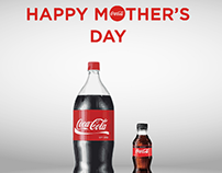 Coca cola Mother's Day...