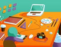 Visual Communication Design Postcards