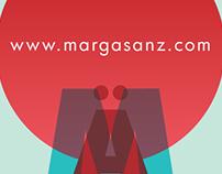 Nuevo logotipo Marga Sänz Artist freeland