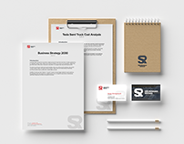 Logistics company branding