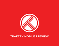 Trakt.tv Mobile Preview