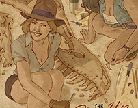 The Pin-Up & DINOSAUR Sketchbook