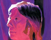 Pastel Portrait Study
