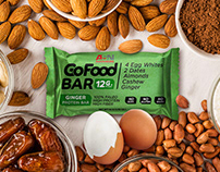 GoFood Bar Packaging and Web page