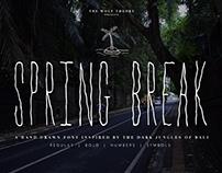 Spring Break Typeface