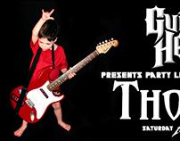 Guitar Hero Party Invite