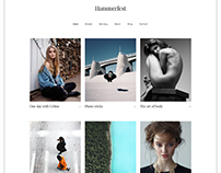 Hammerfest - Minimal creative WordPress theme