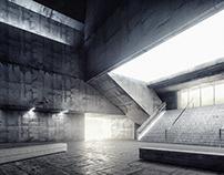 Concrete Lobby