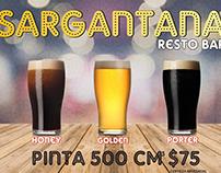 Promociones Facebook Sargantana Resto Bar