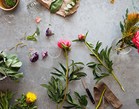 Squarespace Floral Photoshoot