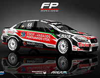2017 Fiat Linea Turismo Nacional Clase 3 FP Racing
