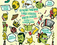 Poster design for Dois Corvos