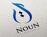 Logotype NOUN CENTER - Sofia Doudine création