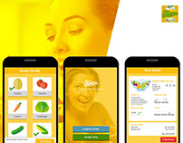 Slera Food Mobile Apps