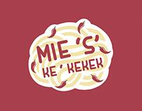 Mie 'S' Ke'kekek Packaging