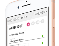 New Mobile Checkout Form