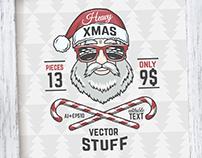 Heavy Christmas vector pack