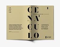 Cenáculo - Magazine Redesign