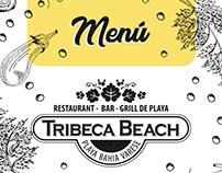 Menú Tribeca Beach