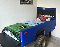 Truck bed bed