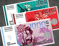 Final Fantasy Gil Banknote Collection