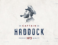CAPTAIN HADDOCK - BRANDING & PACKAGING