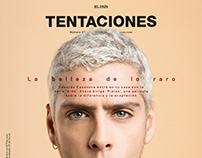 Eduardo Casanova para Tentaciones Mag