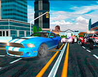 4x4 Real SUV City Car Driving Game Store Graphics