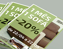 1 Month - 1 Sofa Campaign // Poster & Flyers