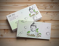 Logo and business cards for a Beauty Center