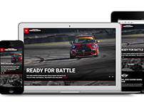 MINI John Cooper Works Racing Team Website Design