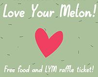 Love Your Melon Flyer
