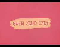 The Pink Dust - Open Your Eyes [Official Lyric Video]