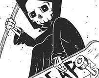Grim Skater | Illustration