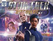 Star Trek Discovery: Captain Saru Cover Illustration