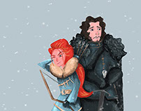 Game Of Thrones | Illustrations & Sketches