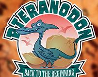 Pteranodon Mascot Logo