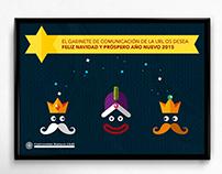 Felicitación de Navidad - Universidad Ramon Llull